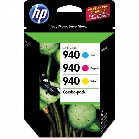 OEM CN065FN (HP 940) Inks, Cyan, Magenta And Yellow