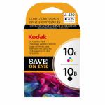 Kodak 8367849 Twin Pack 10B / 10C Ink Cartridges, OEM