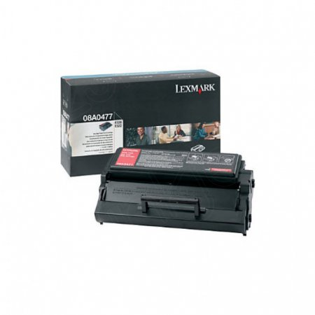 Lexmark OEM 08A0477 High Yield Black Toner