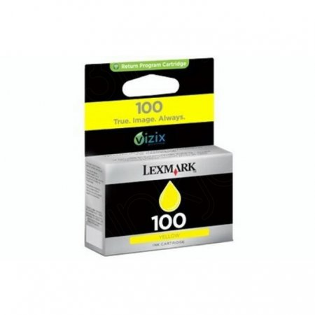 14N0902 (#100) OEM Lexmark Yellow Ink Cartridge
