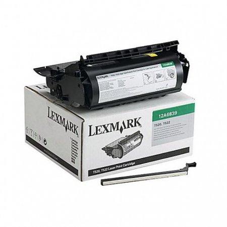Lexmark OEM 12A6839 High Yield Black Toner