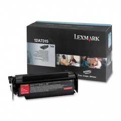 Lexmark OEM 12A7315 High Yield Black Toner