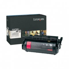 Lexmark OEM 12A7365 Extra High Yield Black Toner