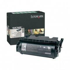 Lexmark OEM 12A7468 Black Toner