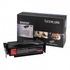 Lexmark OEM 12A8325 High Yield Black Toneru00a0