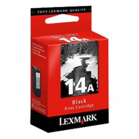 18C2080 (#14A) OEM Lexmark Black Ink Cartridge