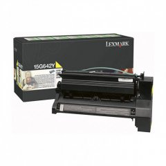 Lexmark OEM 15G642Y High Yield Yellow Toneru00a0