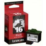 Lexmark 10N0016 Ink Cartridge, Black, OEM