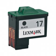 Lexmark 10N0217 Moderate Yield Ink Cartridge, Black, OEM