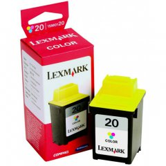 15M0120 (#20) OEM Lexmark Ink Cartridge