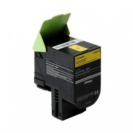 Lexmark OEM 24B6010 Extra High Yield Yellow Toner