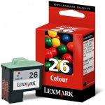 Lexmark 10N0026 Ink Cartridge, Color, OEM