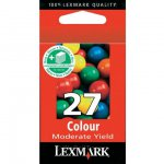 Lexmark 10N0227 Moderate Yield Ink Cartridge, Color, OEM