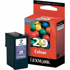 Lexmark 18C1429 Ink Cartridge, Color, OEM
