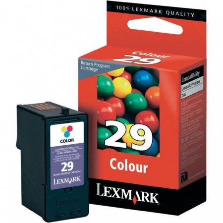 Lexmark 18C1429 Ink Cartridge, Color, OEM