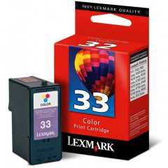 18C0033 (#33) OEM Lexmark Ink Cartridge