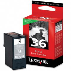 18C2130 (#36) OEM Lexmark Black Ink Cartridge