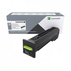 Lexmark OEM 72K0X10 Extra High Yield Black Toner