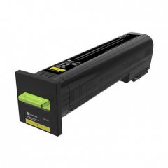 Lexmark OEM 72K10Y0 Yellow Toner