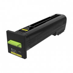 Lexmark OEM 82K0X40 Extra High Yield Yellow Toner