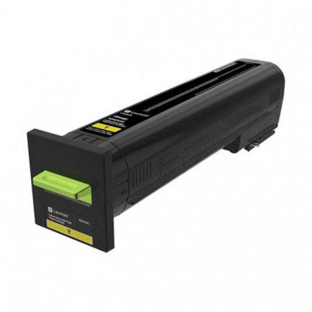 Lexmark OEM 82K0X40 Extra High Yield Yellow Toner