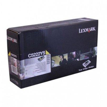 Lexmark OEM C5222YS Yellow Toner