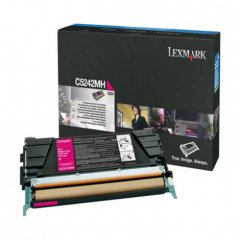 Lexmark OEM C5242MH High Yield Magenta Toner