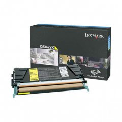 Lexmark OEM C5342YX High Yield Yellow Toner