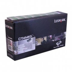 Lexmark OEM C734A4KG Black Toner