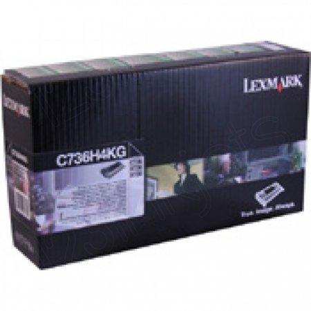 Lexmark OEM C736H4KG High Yield Black Toner