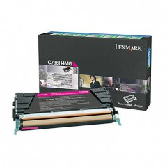 Lexmark OEM C736H4MG High Yield Magenta Toner