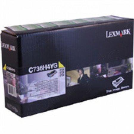 Lexmark OEM C736H4YG High Yield Yellow Toner