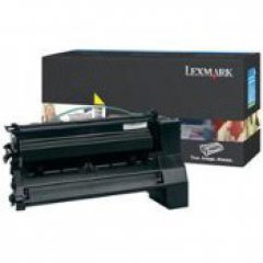 Lexmark OEM C780H2YG High Yield Yellow Toner