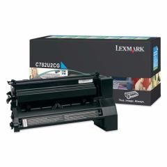 Lexmark OEM C782U2CG Extra High Yield Cyan Toner