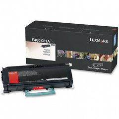 Lexmark OEM E460X21A Extra High Yield Black Toner
