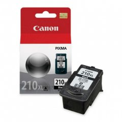 Canon PG-210XL Inkjet Cartridge, High Yield Black, OEM
