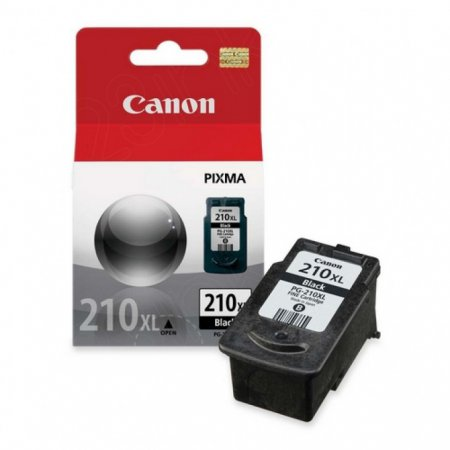 Canon PG-210XL Inkjet Cartridge, High Yield Black, OEM