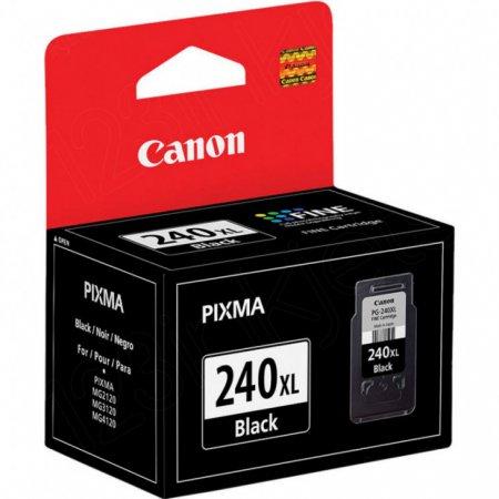 Canon PG240XL Inkjet Cartridge, High Yield Black, OEM