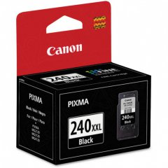Canon PG240XXL Inkjet Cartridge, Extra High Yield Black, OEM