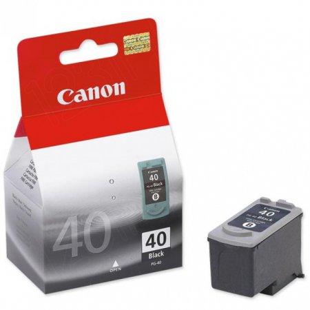 Canon PG40 Inkjet Cartridge, Black, OEM