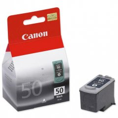 Canon PG50 High Yield Inkjet Cartridge, Black, OEM