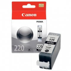 Canon PGI-220 Inkjet Cartridge, Pigment Black, OEM