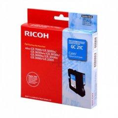 Ricoh 405533 Ink Cartridge, Cyan, OEM