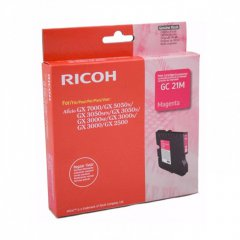 Ricoh 405534 Ink Cartridge, Magenta, OEM