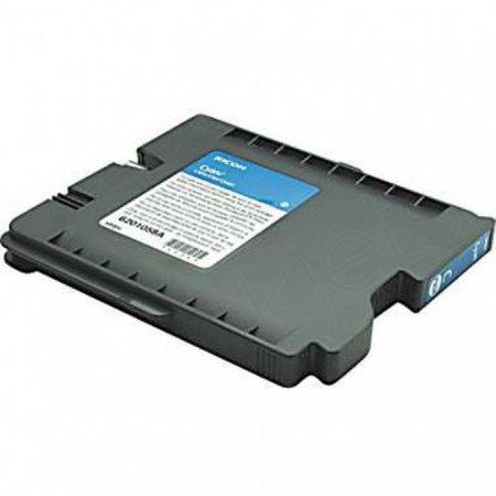 Ricoh 405537 Ink Cartridge, HY Cyan, OEM