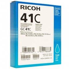 Ricoh 405762 (GC41C) Ink Cartridge, Cyan, OEM