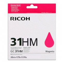 Ricoh 405703 (GC31M HY) Ink Cartridge, Magenta, OEM