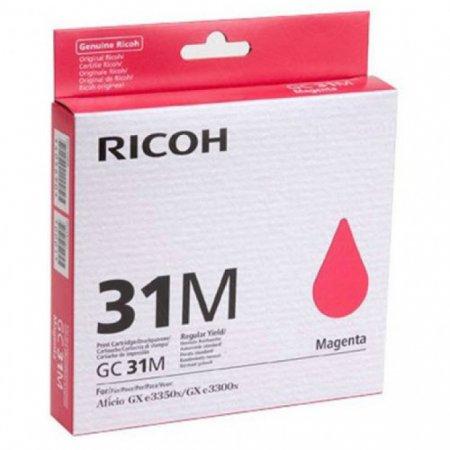 Ricoh 405690 (GC31M) Ink Cartridge, Magenta, OEM