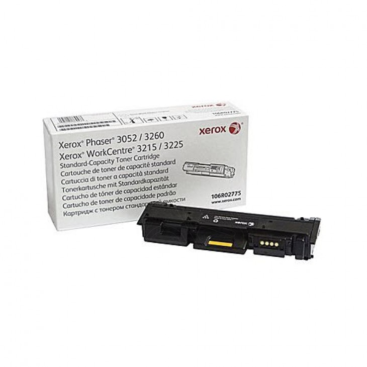 OEM Xerox 106R02775 Solid Ink Cartridge, Black