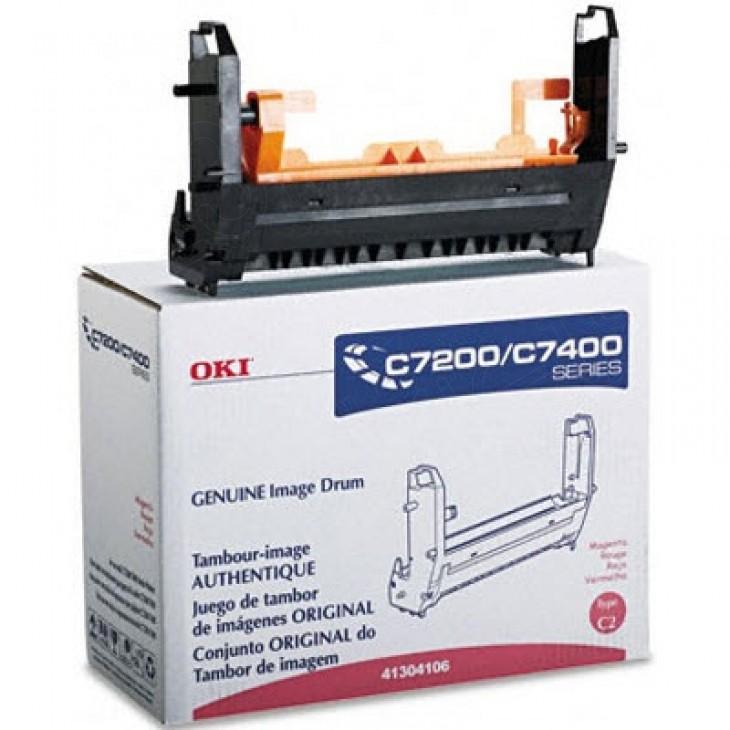 Okidata 41304106 (Type C2) OEM Laser Magenta Drum Unit